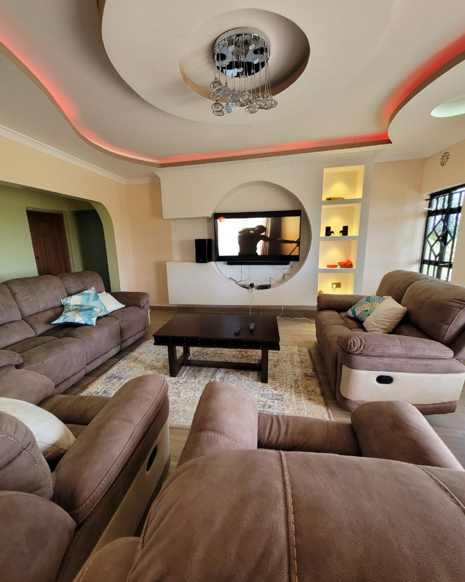 Living Room at Kokoo's Guest House